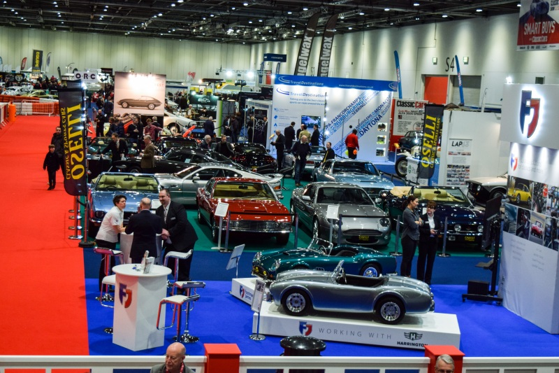 The London Classic Car Show The Classic And Sports Car - Sports car show